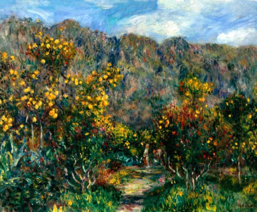 Renoir_-_Paisaje_con_mimosas